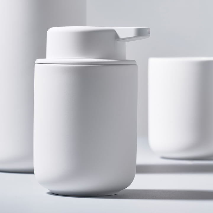 The Zone Denmark - Ume Soap Dispenser and Toothbrush Holder