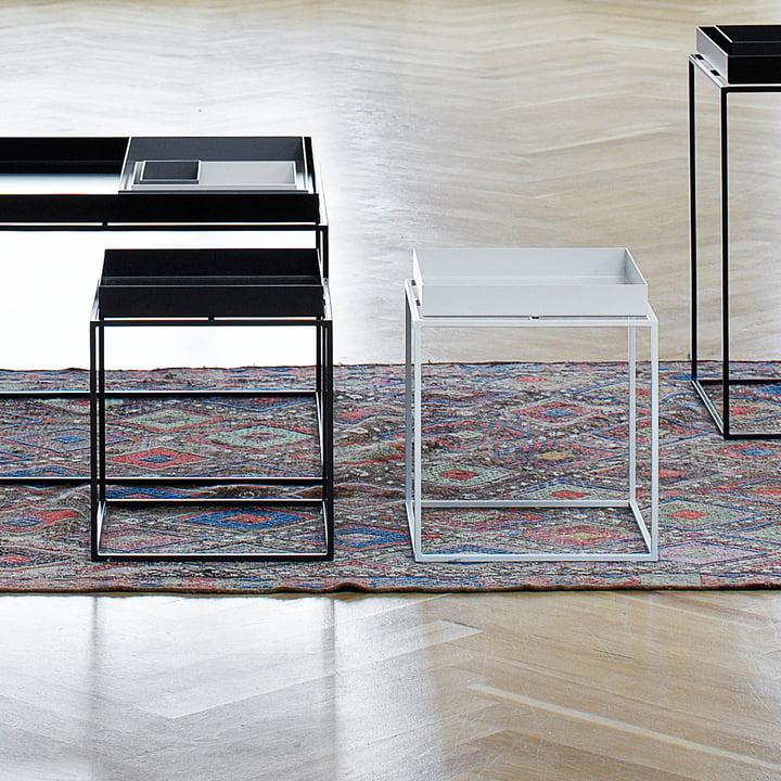 Hay - Tray Table 30 x 30 cm, white