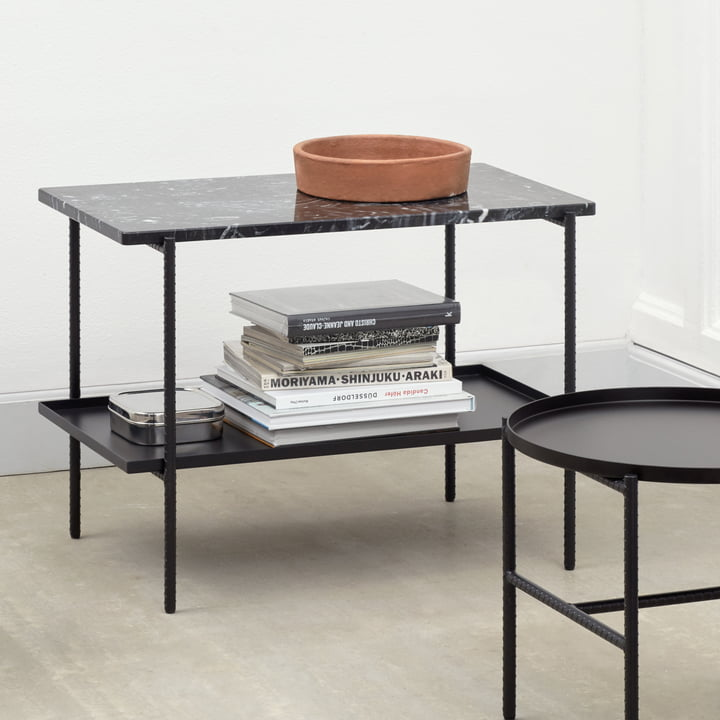 Rebar Rectangular Side Table By Hay Connox