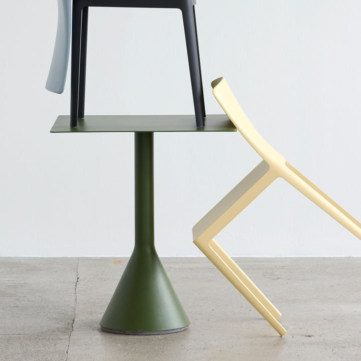 Palissade Cone Bistro Table by Hay