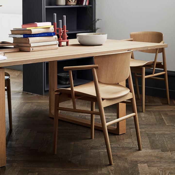 Fritz Hansen - N01 Armchair, oak