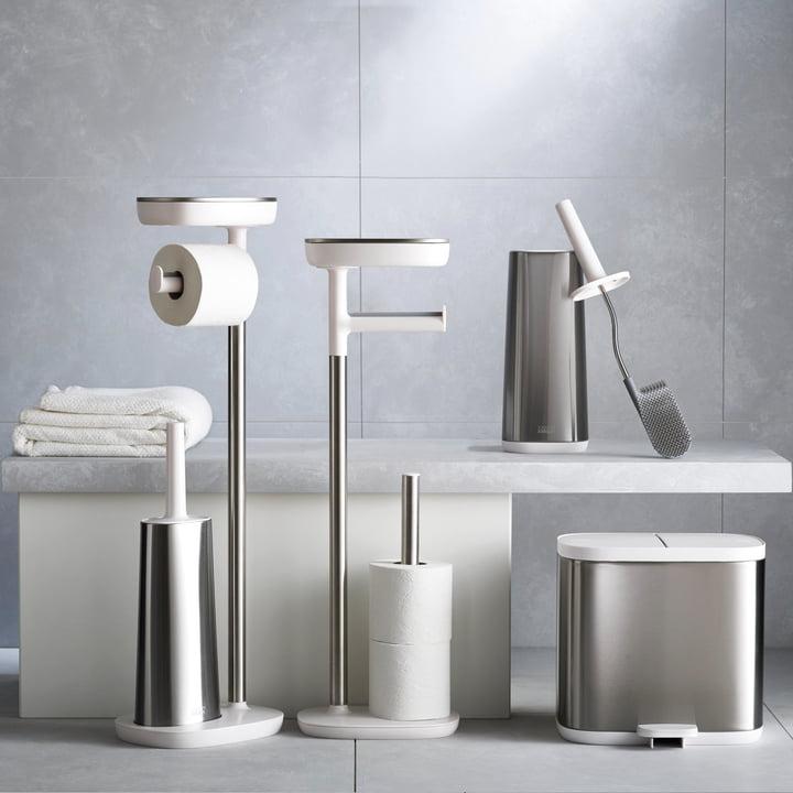 Easystore Plus Toilet Paper Holder With Flex Steel Toilet
