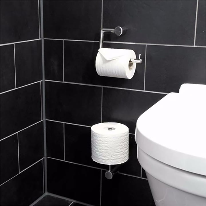 Nova 2 Toilet Roll Holder By Frost Connox