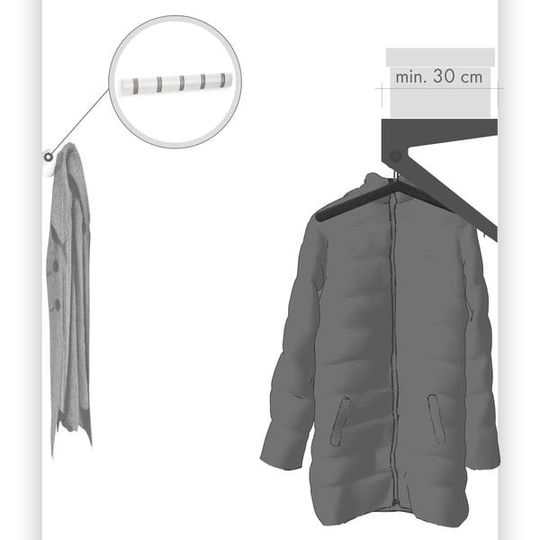 PUK hanging wardrobe