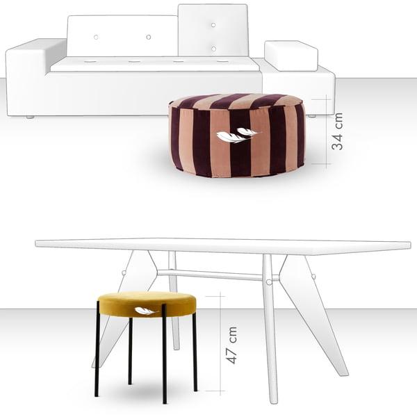 Stool - seating comfort