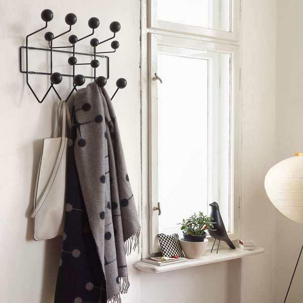 Hang it all wardrobe from Vitra in ash black / black