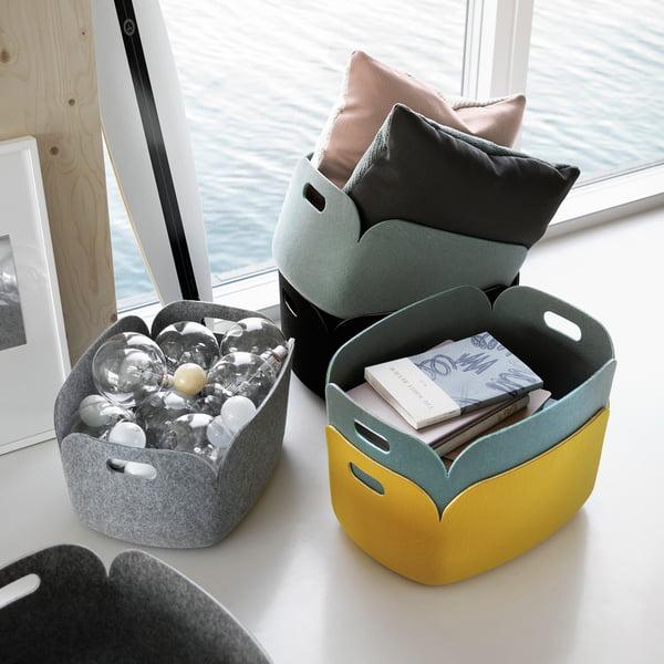 Restore storage basket from Muuto