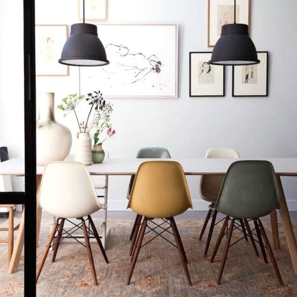 Design Classics By Vitra U0026 Hay In The Dining Room
