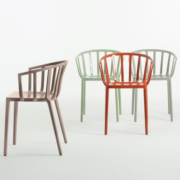The Kartell - Venice chair in different colors
