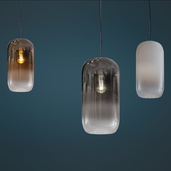 Gople pendant luminaire from Artemide