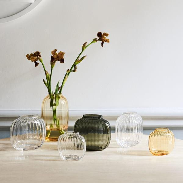 Primula Vases from Holmegaard