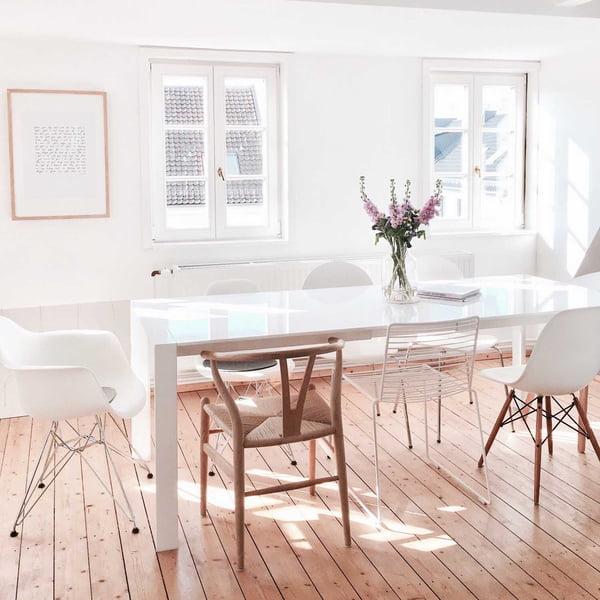Karlas View Homestory - Dining room - Carl Hansen, Hay and Vitra